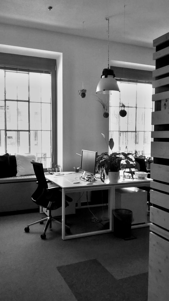 kokedama kancelář