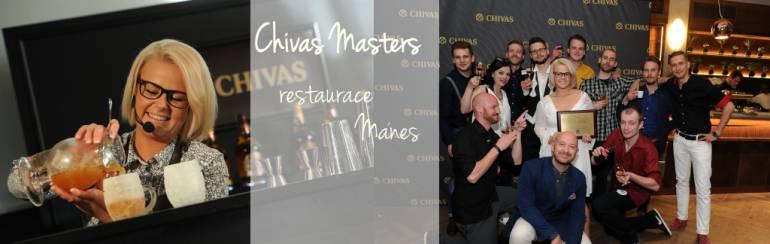 Chivas Masters 2017 – restaurace Mánes