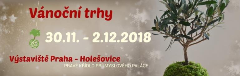 Vánoční trhy v Průmyslovém paláci 2018